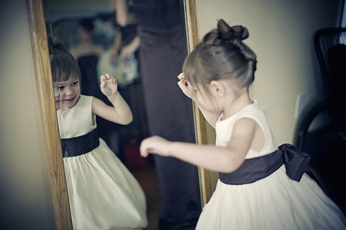 dance in front of the mirror