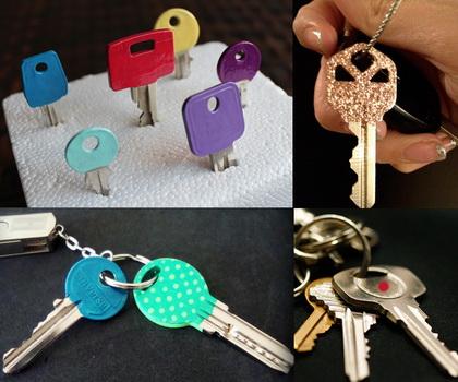 nail polish keys