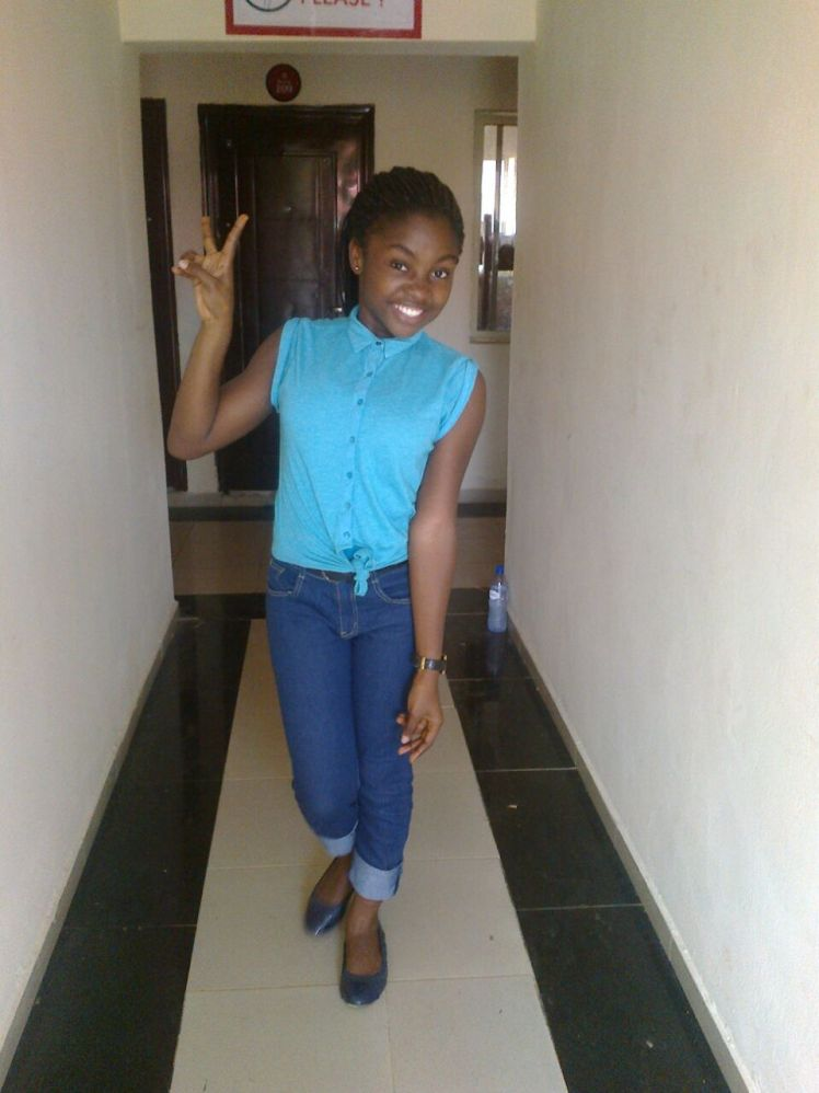 Boluwatife Ishola in OAU hostel