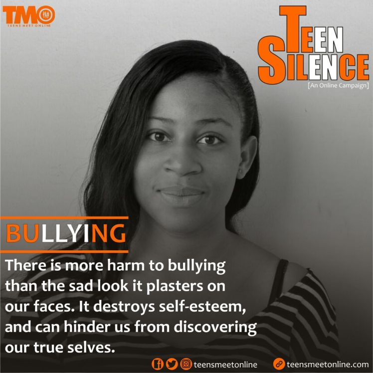 Teen Silence, Bullying