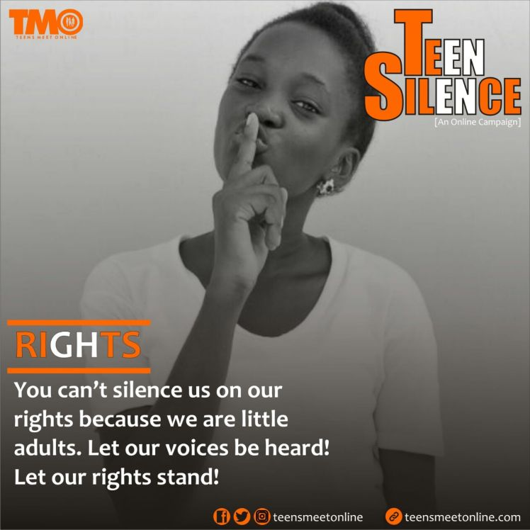 Teen Silence, Rights
