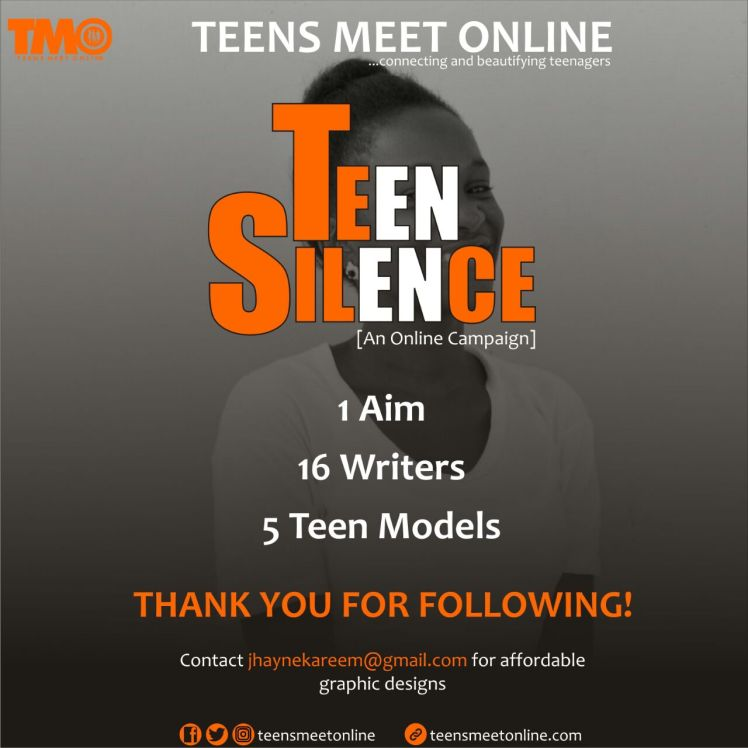 Teen Silence, online campaign