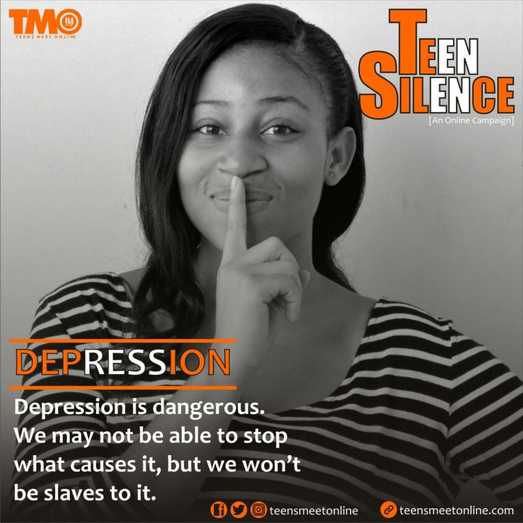 Teen Silence, Depression