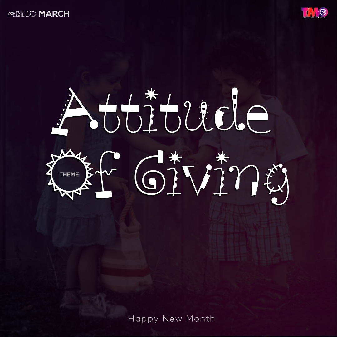 Attitude of giving