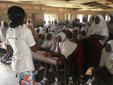 Ogbomoso, Oyo. School outreach