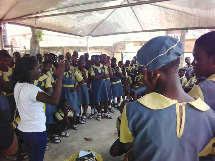 Lagos. School outreach