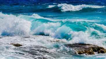ocean, sea, water
