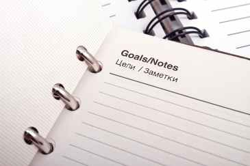 goals, note