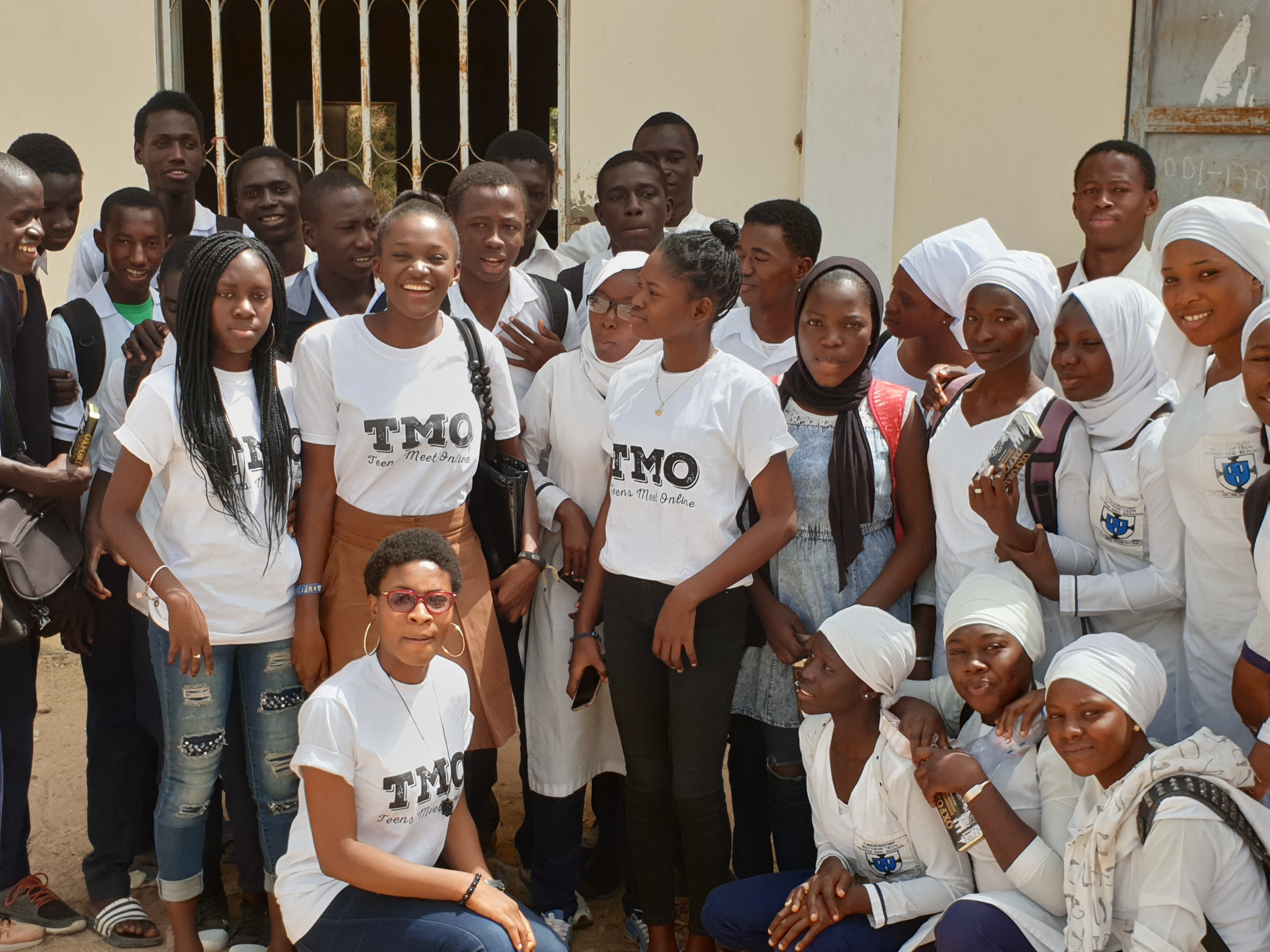 TMO School outreach The Gambia, Bottrop School