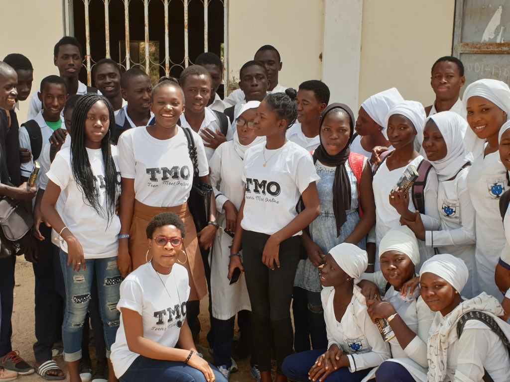 TMO School outreach The Gambia, Bottrop School