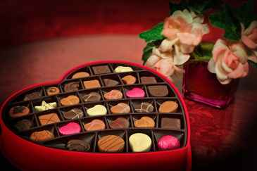 love, valentine, chocolates,