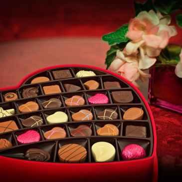 love, valentine, chocolates,