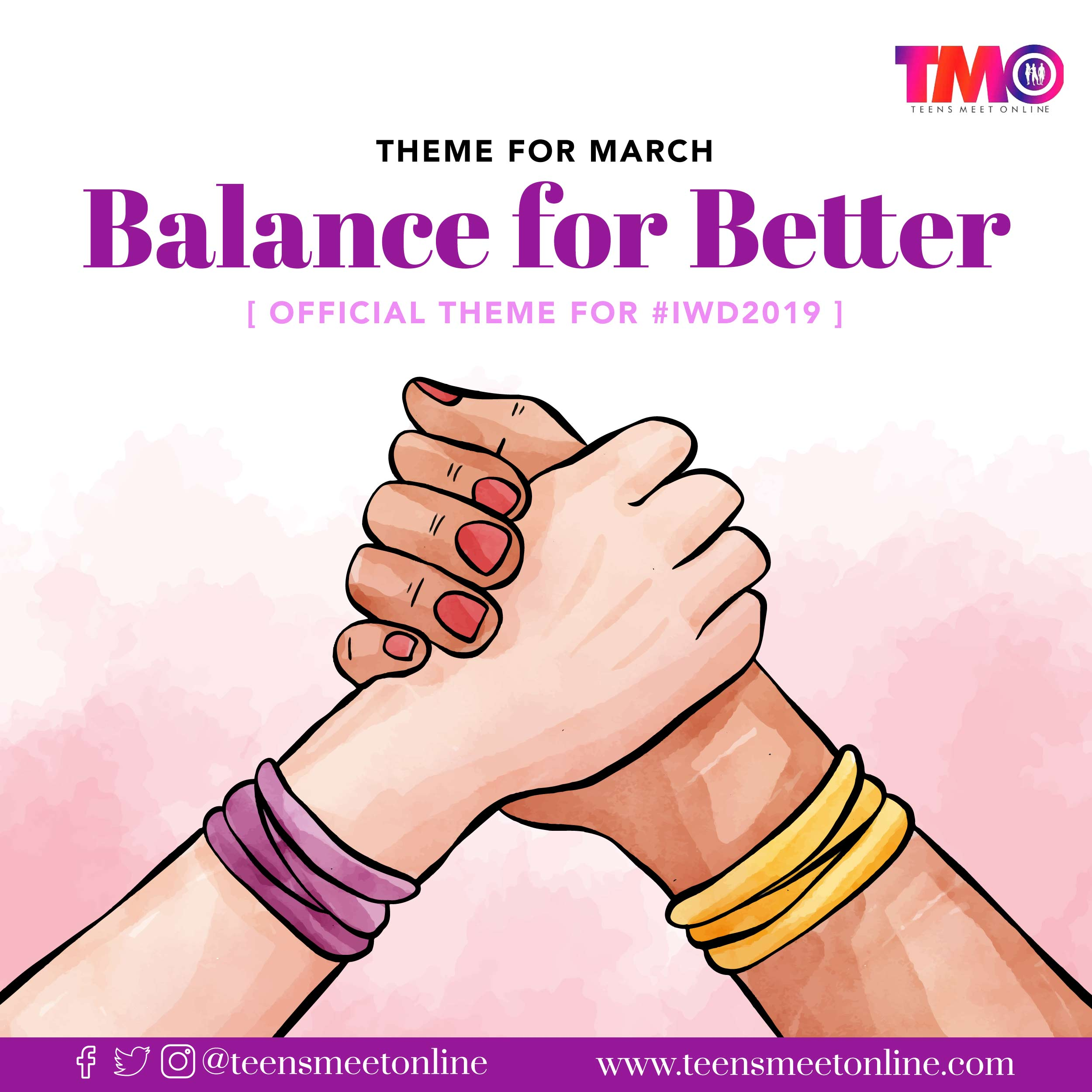 Balance-for-better, March theme 2019