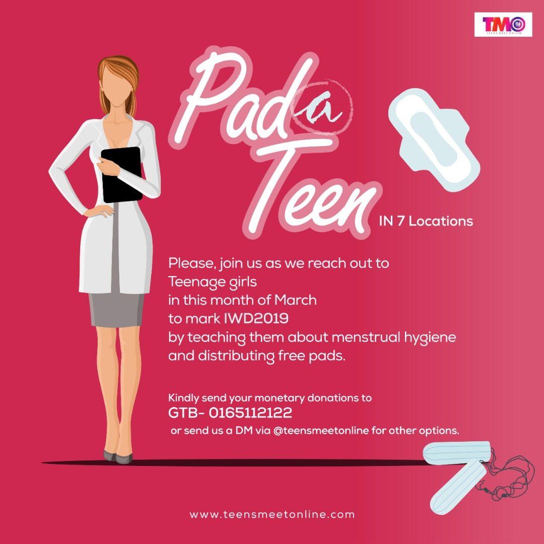 PadATeen, IWD, TMO project