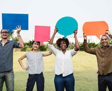 communicate, talk, team