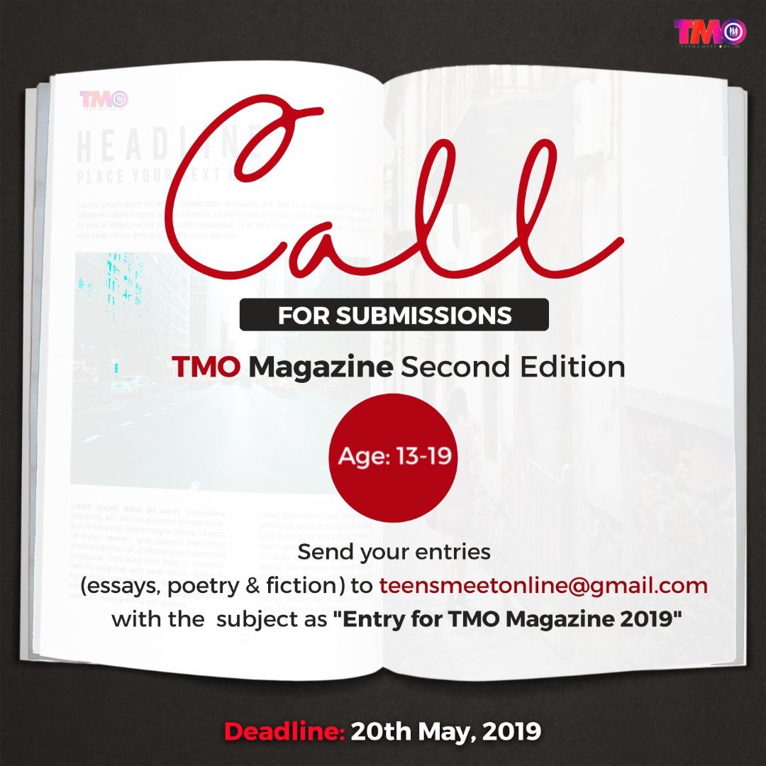 Call for Submissions for TMO Magazine
