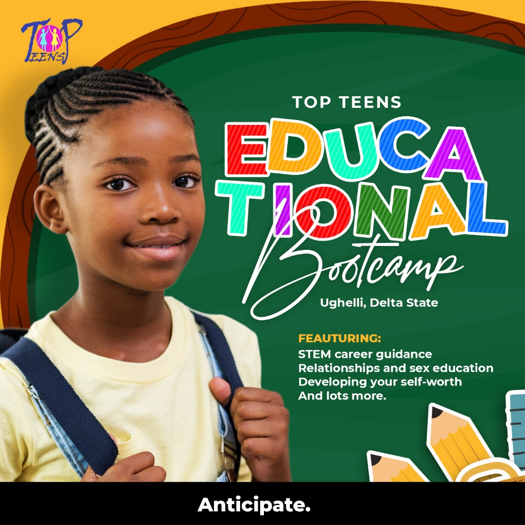 Apply for Top Teens Educational Boot-Camp