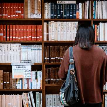 study, library, student, books
