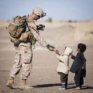 soldier, Random Acts of Kindness, kind