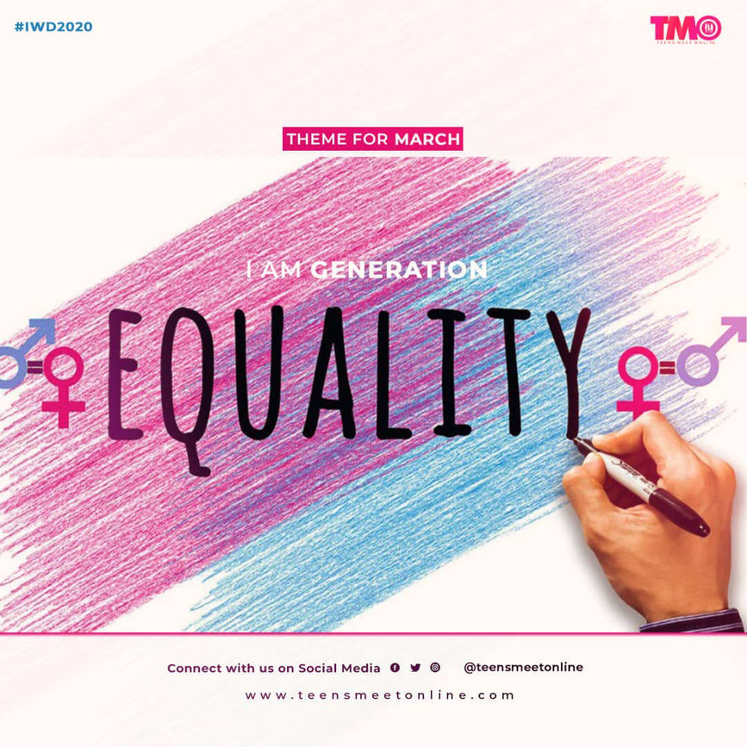 March 2020, IWD Equality