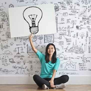 idea, bulb, intelligence