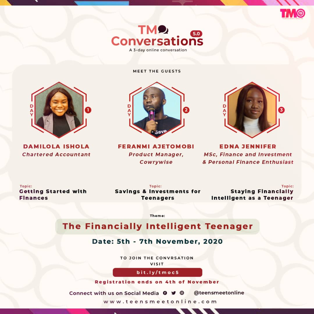 Register for #TMOC5: The Financially Intelligent Teenager