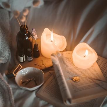 Light, candles