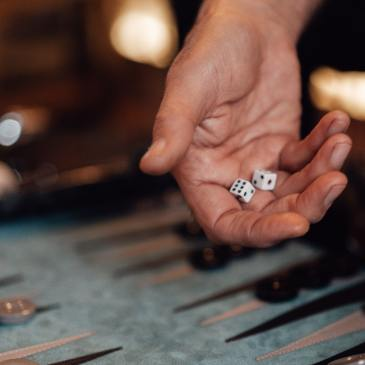 life, dice, strength, hand